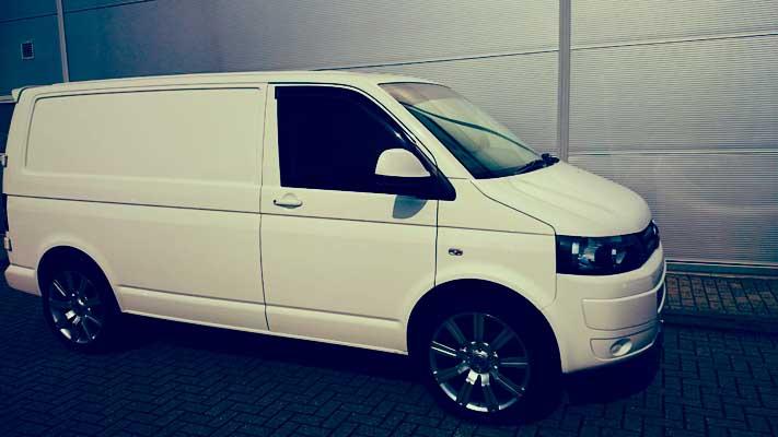 van blacked out windows