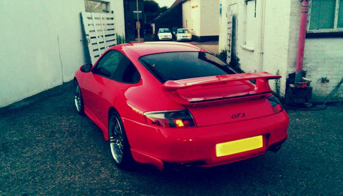 Porsche Carrera GT Turbo 1