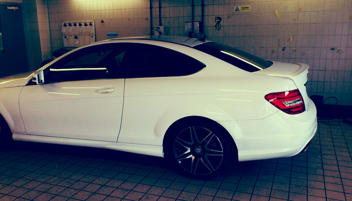 Mercedes C-Class Coupe 1